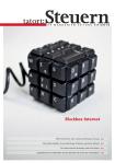 Steuerkanzlei fhplus Mandantenmagazin zum Thema Steuern.