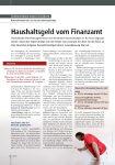 Leseprobe  fhplus Mandantenmagazin zum Thema Steuern.